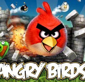 immagine esemplificativa del gioco angry birds
