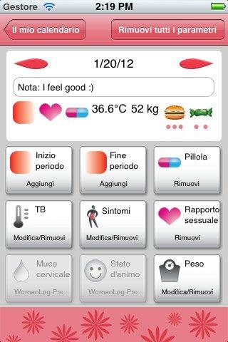 Calendario fertilità per donne (iphone, android)