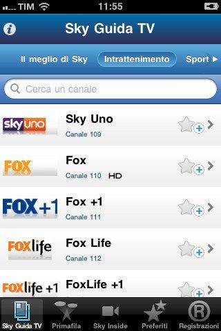Programmi Tv Sky