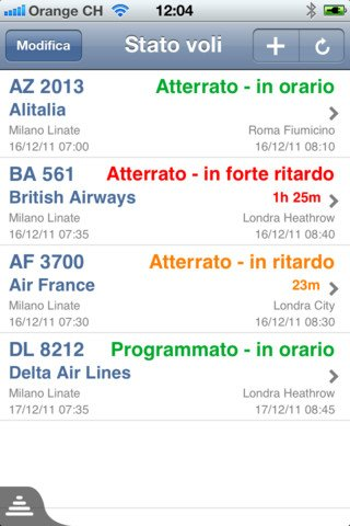 Offerte voli low cost, app per iPhone, Android