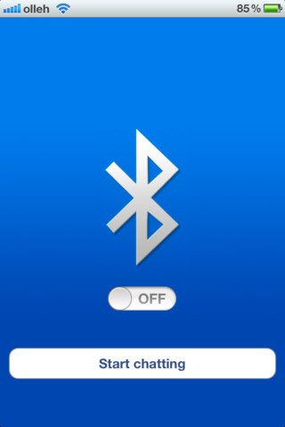 Bluetooth OnOff. - app per attivare subito il bluetooth, per iphone