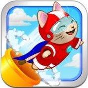 Cannon Cat - Lancia il gatto e salva i pesci volanti, gioco per iPhone