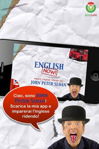 English Now! Impara l'inglese ridendo di John Peter Sloan - app iphone