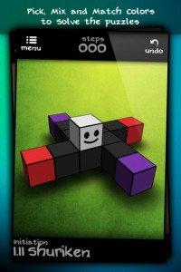 Qvoid - Applicazione gioco stile puzzle game per iphone, ipad
