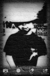 Fotoffiti - Trasforma le tue foto in graffiti, applicazione per iphone
