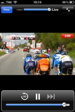 Giro d'Italia - App per seguire la corsa ciclistica, per iOS e Android