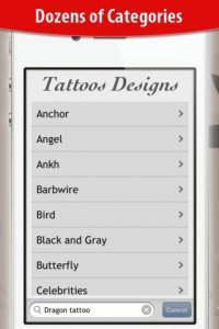 HD Tattoo Designs Catalog - Cerca il tattoo(tatuaggio), app per iphone