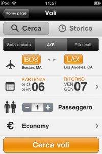 KAYAK - App per viaggi (voli, hotel, autonoleggi) per iOS ed Android