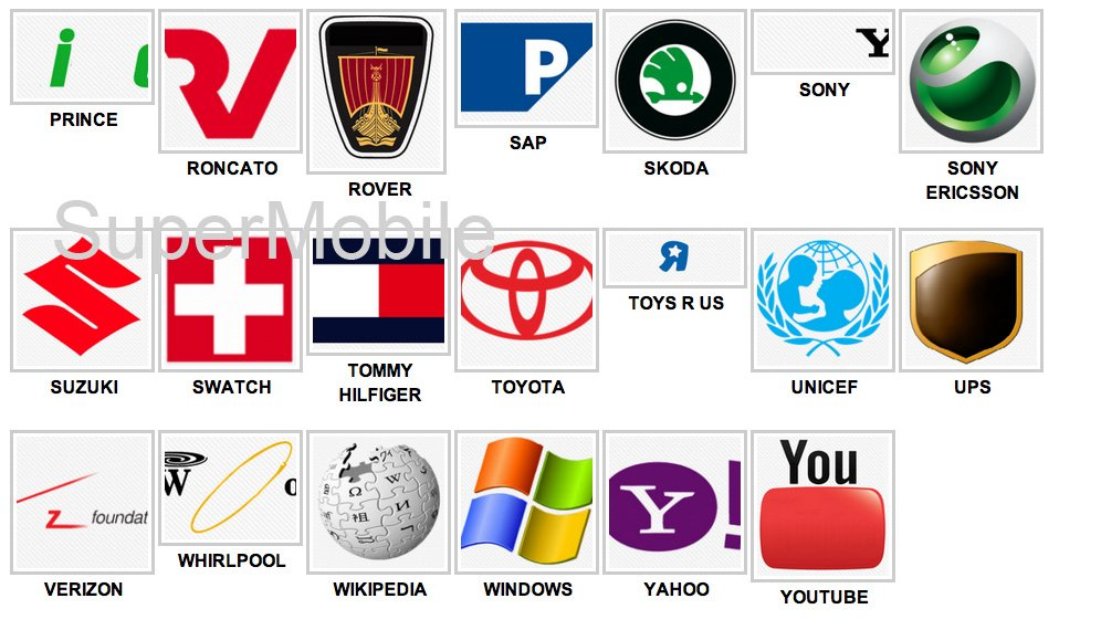 Logos Quiz Game - Tutta la soluzione, all solution, per iPhone, iPad