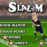 Slalom - Dribbla i tuoi avversari, gioco di calcio per iPhone, iPad