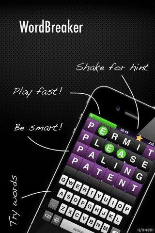 WordBreaker - Indovina la parola, gioco per iPhone, iPad