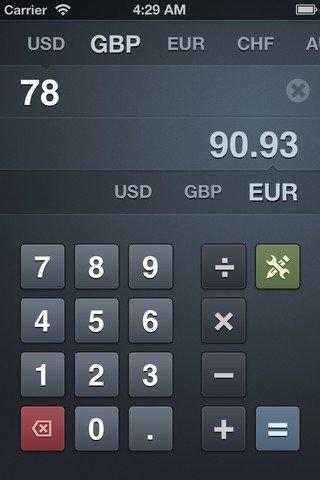 Banca - convertitore di valuta, utile, efficiente e semplice da usare