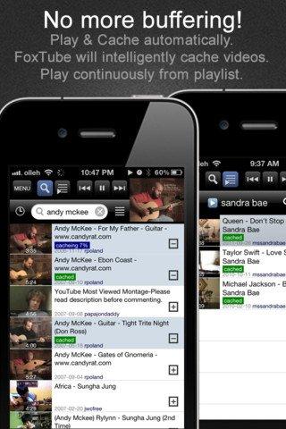 FoxTube - Salva i video di youtube direttamente sul tuo iPhone, iPad