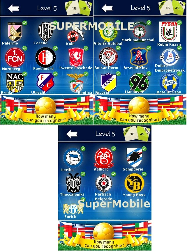 Football Logo Quiz - Tutta la soluzione completa, all solution, cheats