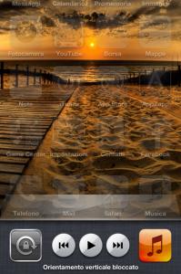 Immagine blocco schermo