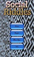 Social Riddles - App gioco ad enigmi ed indovinelli. Soluzioni.