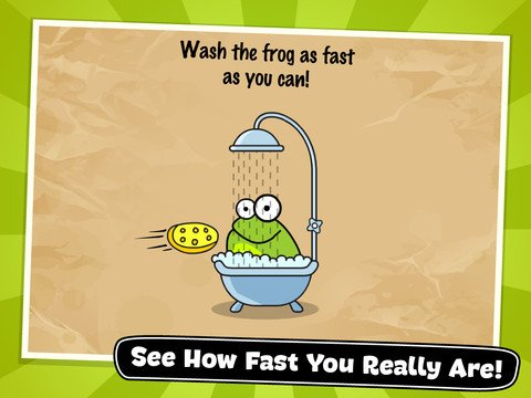 Tap The Frog - Puzzle quiz game multilevel per iPhone, iPad, iPod