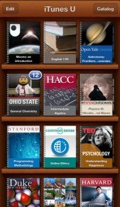 iTunes U - Lezioni gratuite universitarie sul tuo iPhone, iPad, iPod