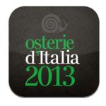 Osterie d'Italia 2013