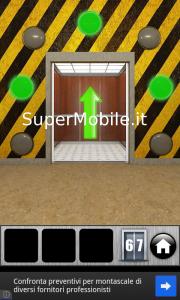 Soluzione 100 Doors RUNAWAY livello 67