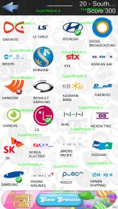 Soluzioni Logo Quiz bt Country Answers livello 20 south corea