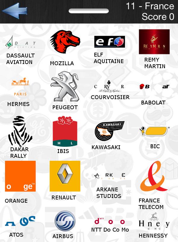 Food logo quiz ultimate answers - Quiz cuisine francaise ...