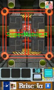 Soluzione 100 Doors Aliens Space Walkthrough livello 16