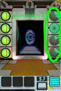 Soluzione 100 Doors Aliens Space Walkthrough livello 37