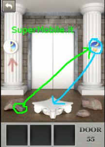 Soluzione 100 Locked Doors livello 55