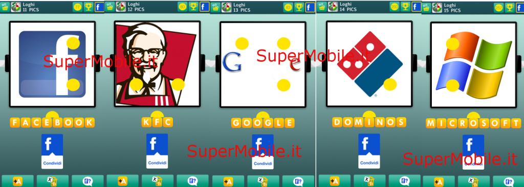 Soluzione 100 PICS Quiz loghi