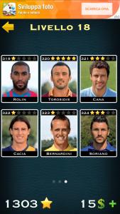 Soluzioni Calcio Quiz livello 18
