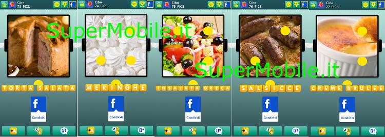 Soluzioni 100 pics quiz Cibo