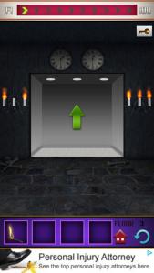 Soluzione 100 floors il castello livello 3