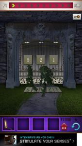 Soluzione 100 floors il castello livello 6