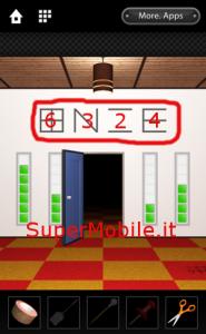 Soluzione Dooors 3 room escape game Walkthrough - Livello 43