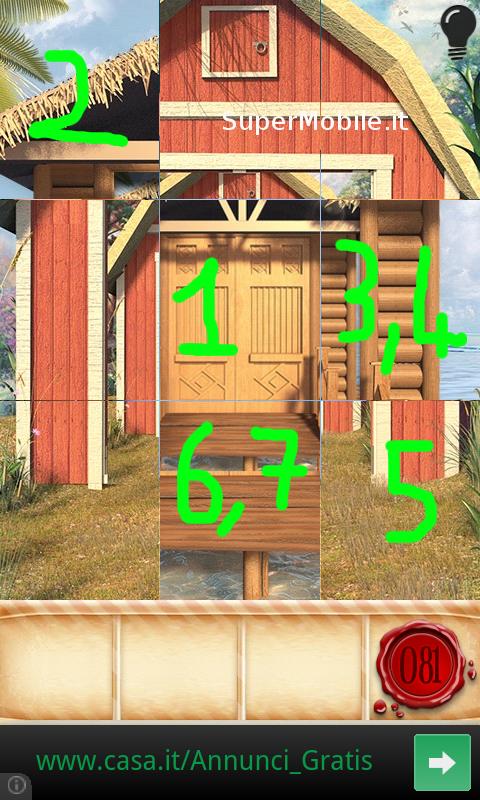 Soluzioni 100 Doors Seasons Part 2 FOREST Walkthrough livello 86