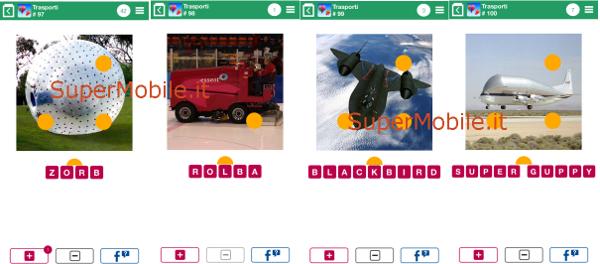 Soluzioni 100 Pics Quiz Trasporti