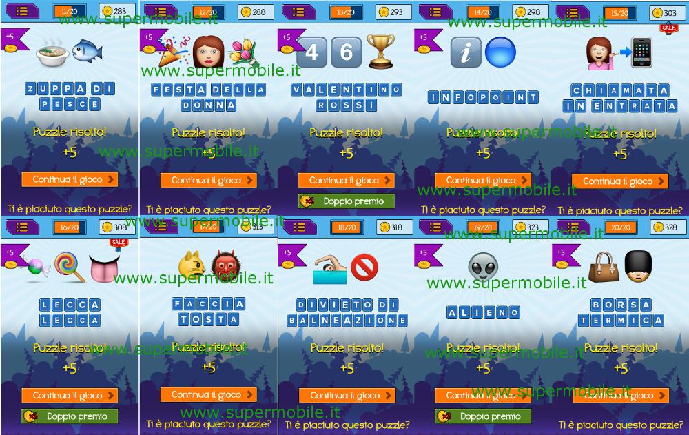 EmojiNation Puzzle Emoticon - Livello 26