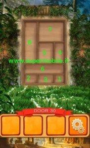 Soluzioni World Of History 100 doors livello 30