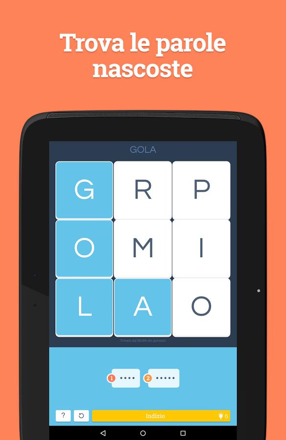 Soluzione Word Academy