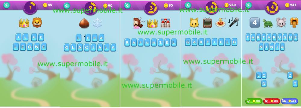 Soluzione EmojiNation 2