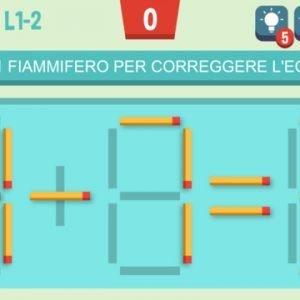 Move The Match Muovi Fiammiferi Puzzle Fiammiferi