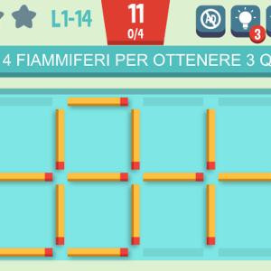 Soluzioni Move The Match Muovi Fiammiferi Puzzle Fiammiferi