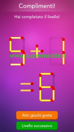 Soluzioni Pro Rompicapi coi fiammiferi