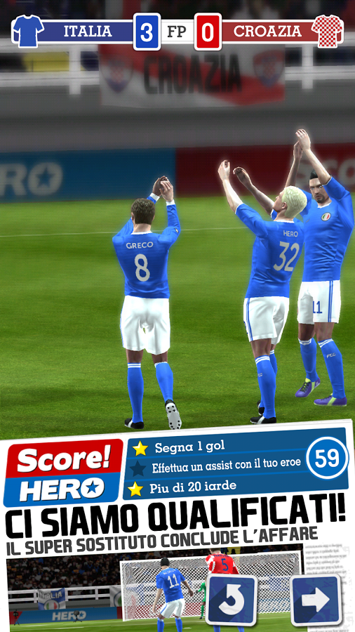 score euro hero