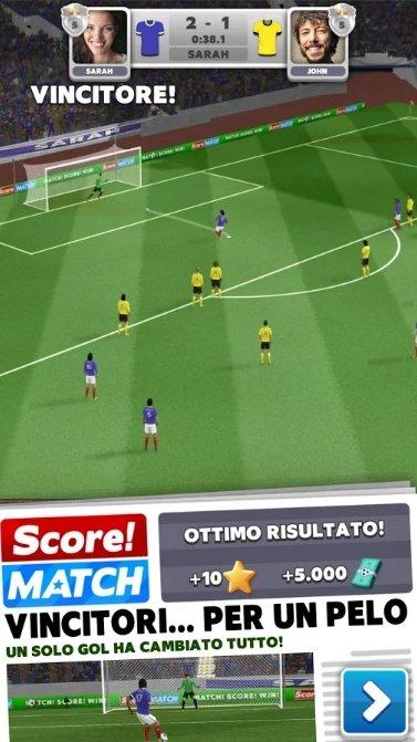 Score! Match Come si Gioca