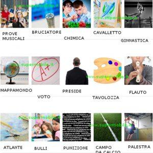 Soluzione 100 Pics Quiz Scuola