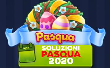 PASQUA 2020 4 immagini 1 parola PASQUA - Soluzione Aprile 2020