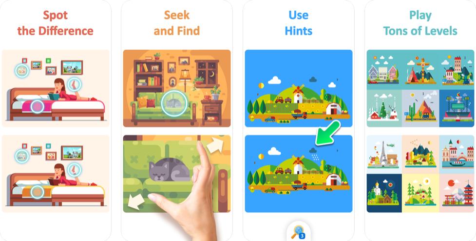 TapTap Differences Soluzione Completa Walkthrough