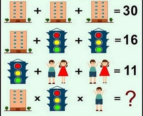 Soluzione gioco matematico palazzo semaforo e coppia